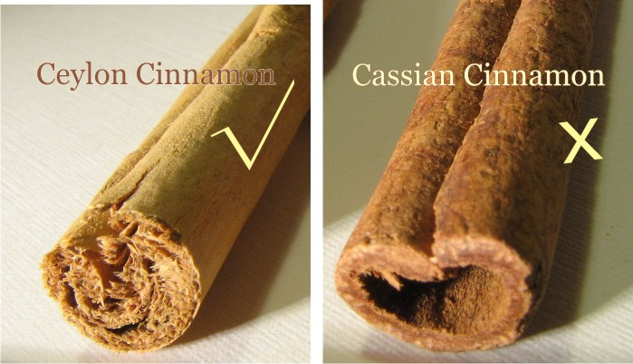cinnamom comparison