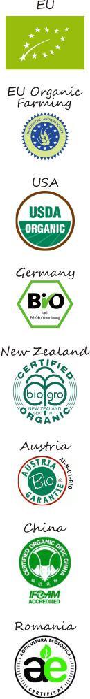 some organic certifications