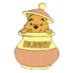 winnie likes honey