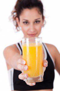 orange juice for colds