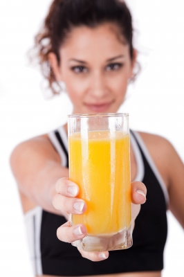orange juice for colds