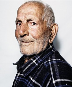 99 years old Greek man