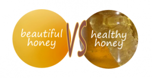difference between pure honey and raw honey