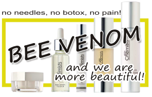 bee venom mask for a younger complexion