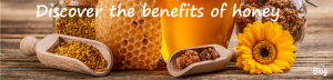 be healthy with honey and all products of the hive