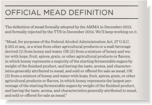 official definition of mead