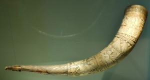 Iceland drinking horn