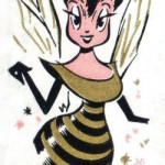 the honey bee queen