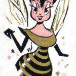 the honey bee queen