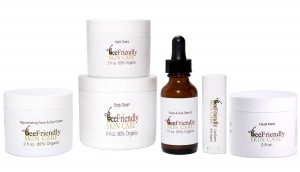 skin care cosmetics with propolis