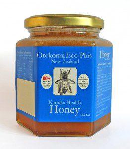 a ar of kanuka honey 80+