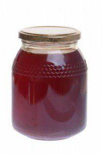 chestnut honey jar