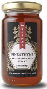 enjoy pine and thyme honey from Crete, Greece