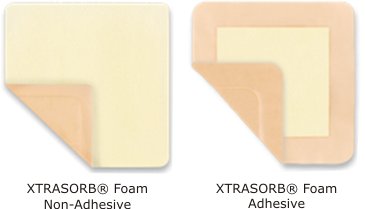 xtrabsorb foam for medium exudate wounds