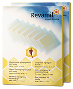 what is revamil wound dressing and how to use it