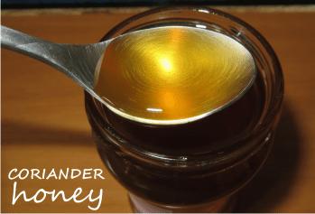 coriander honey health benefits