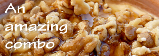 honey and walnuts are amazing for fertility and anemia