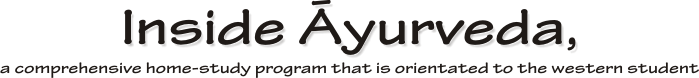 inside ayurveda