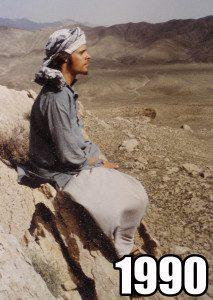 Todd Caldecott in India 1990