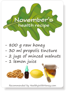 health recipe for autumn colds