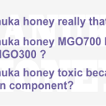 MANUKA HONEY CAN BE TOXIC BECAUSE OF ITS TUTIN CONTENT