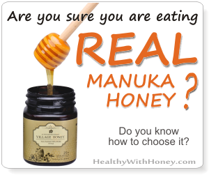Am I reating real manuka honey?