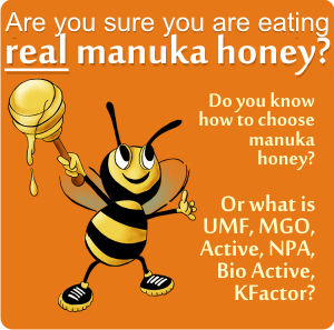 Deciphering manuka honey: UMF15+, MGO400, 24+ Bio Active, KFactor16