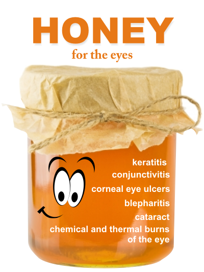 special honey to treat eye conditions