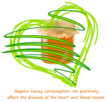 eat honey for a healthy heart