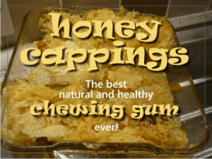 health benefits of honey cappings