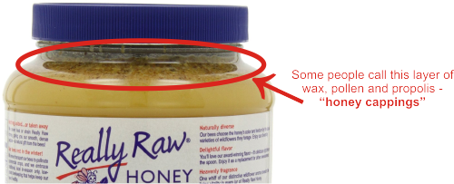 this is not the real honey cappings