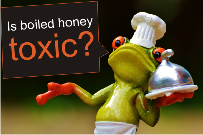 heating honey kills enzymes