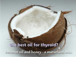 is coconut oil good for thyroid