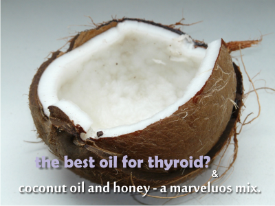 is coconut oil good for thyroid