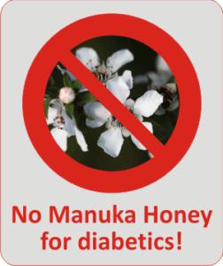 manuka honey and berringa honey are not good for diabetics