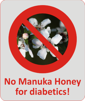 contraindications for manuka honey and berringa honey