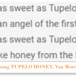 tupelo honey is a honey from mississippi