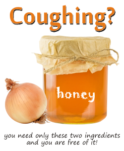 The onion honey cough remedy  And other natural remedies