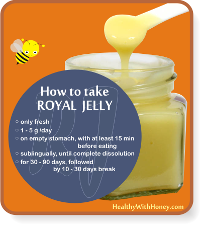 recommended dose for royal jelly