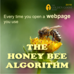 what is the honey bee algorithm