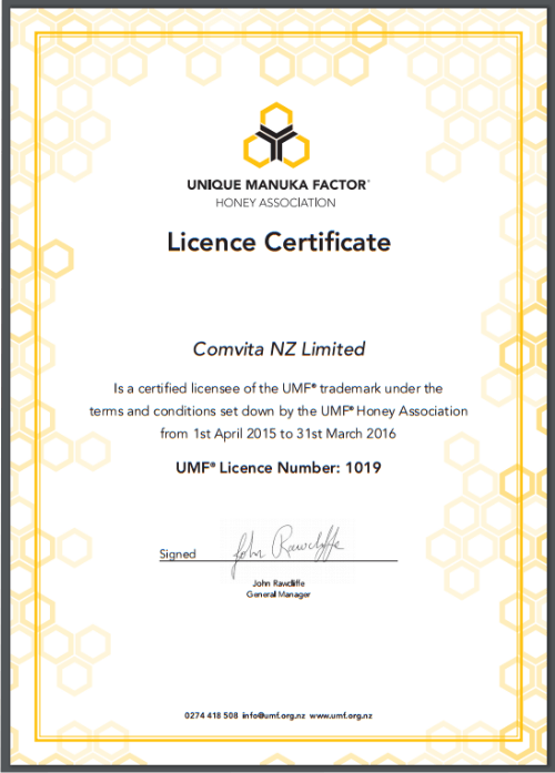 comvita manuka honey review umf certification