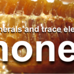 which are the minerals present in honey