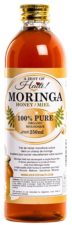 moringa honey from Haiti available on Amazon.com