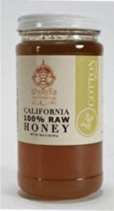 jar of cotton honey
