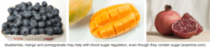 fruit contain sugar but help to regulate blood sugar