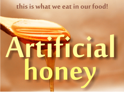 what is artificial honey or fake honey