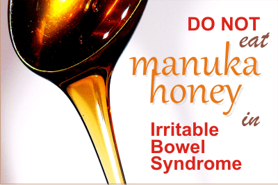 manuka honey in irritable bowel syndrome