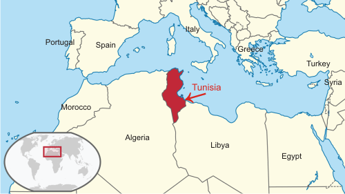 where is tunisia