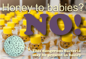 why can't you give honey to babies