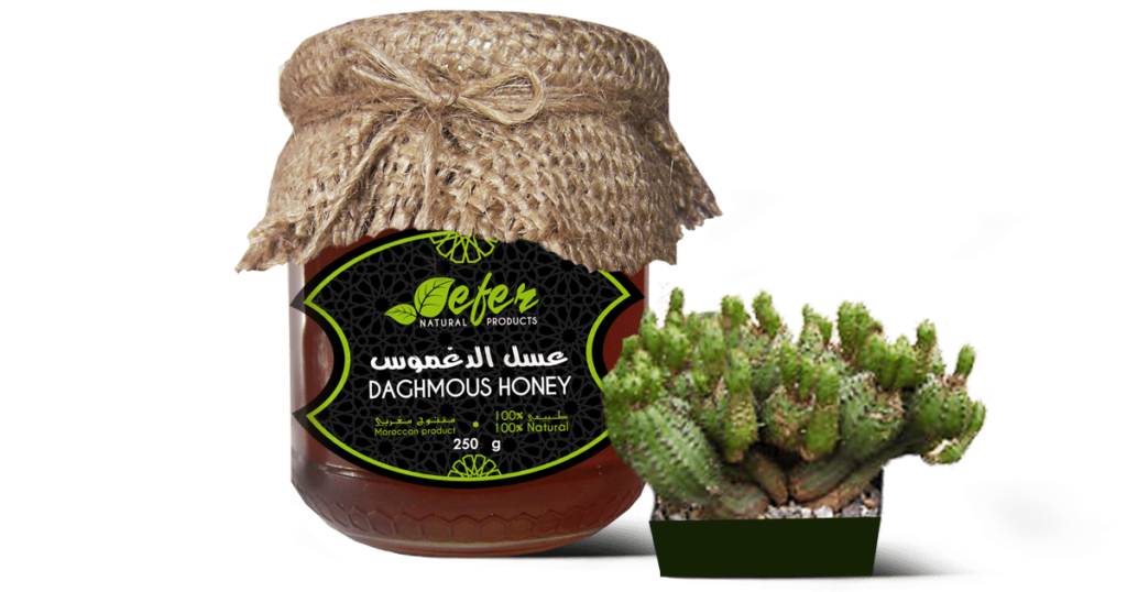 daghmous honey or spurge honey or cactus honey